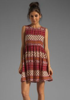 MINKPINK Maya Mini Dress in Multi