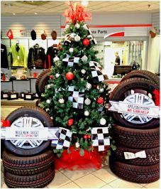 christmas tree in a car dealership service department christmas tree ideas christmas tree decorations
