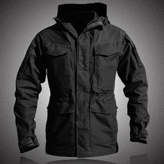 M-65 US Men All Weather Tactical Military Field Jacket - Amazing Man Store