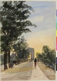Fine Art Print-Triumphal Arch, Paris Fine Art Print on Paper made in the UK James Moore, Fine Art Prints, Framed Prints, National Museum, Northern Ireland, Champs, Online Printing, Dolores Park, Arch