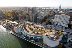 Aerial Photo of Monona Terrace