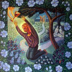 James B. Janknegt 2011 Sorrowful Mystery #1:Agony in the Garden