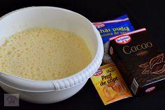 Tort cu crema de ciocolata si portocale - CAIETUL CU RETETE Fondue, Cheese, Ethnic Recipes