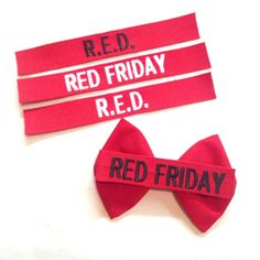 Dorothy Drive Design | Military/Firefighter Red Friday bows are the perfect accessory to support the military personnel deployed.  Remember Everyone Deployed on Friday! #military #redfriday #militaryaccessories #milso #milsoaccessories #remembereveryonedeployed #army #navy #airforce #marines #coastguard