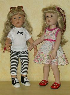 CAMILLE ET MARION. www.Lilianedolls.skyrock.com.