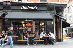 Bodean's BBQ (SOHO) has the best pork BBQ you will find in Europe. It even rivals some of the BBQ places in Memphis - which is saying something.