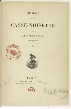 Histoire d'un casse-noisette, par Alexandre Dumas. Illustré par Bertall, 1845