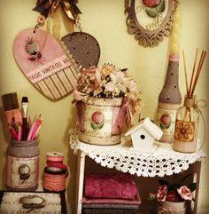 Olá gente lindaaaaaa! Muitas lindezas e tranqueirinhas lindas pra se inspirar! Beijinhos noTania #madeira #decoration #feitopormim