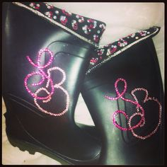 My personalized wellies for this year