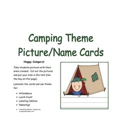 Camping Theme Classroom Set