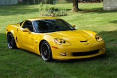 Velocity Yellow Corvette Z06