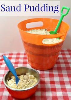 This Sand Pudding looks like the real thing and tastes even better! You will never believe what the sand is made out of! Click on the image to find out.