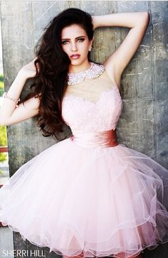 Pink Sherri Hill Dress
