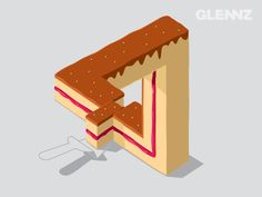 Layer Cake - Illustration Concept for Glennz Tees