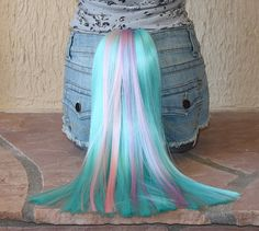 HALLOWEEN- Princess Celestia tail - clip on costume cosplay - my little pony - friendship is magic - MLP