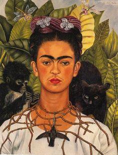 Frida Khalo love her work