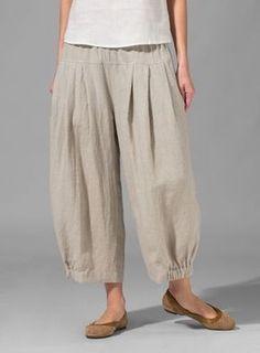 f1a9f51a3fe Linen Harem Pants