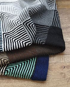 Hue Shift Afghan by Kerin Dimeler-Laurence