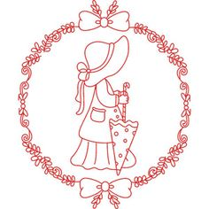 Clipartopolis.com - Digitizer's Heaven Embroidery Works, Machine Embroidery Patterns, Embroidery Needles, Applique Patterns, Embroidery Applique, Embroidery Designs, Pyrography Patterns, Sunbonnet Sue, Little Stitch