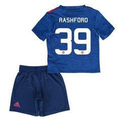 Manchester United Trøje Børn 16-17 Marcus #Rashford 39 Udebanesæt Kort ærmer.199,62KR.shirtshopservice@gmail.com