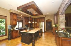 Gorgeous Gourmet Kitchen! Distinctive Stone & Brick Accents! Maintenance-Provided Golf Course Home In Prestigious Cedar Creek! For more info, visit www.summerson.com or call 913-661-2303.