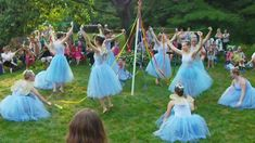 2012 Fairy Festival with Rockford Dance Company at Womanspace: Maypole Dance