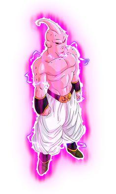 Super Buu w/ Aura by blackflim on DeviantArt Power Rangers, Buu Dbz, Anderson Silva, Majin Boo, Dbz Characters, Dragon Ball Z, Devil, Iphone Wallpaper, Comic