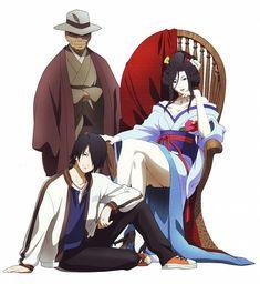 Jigoku Shoujo (Hell Girl) - Hone-Onma, Ichimoku Ren, Wanyudo,
