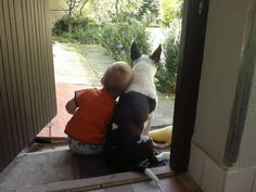 Friends - every child should have a dog