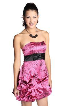 pickup lace homecoming dress
