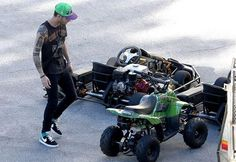 Zayn and his vehicles