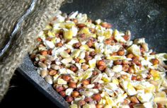 Organic Chicken Feed Is Cheep When You Make It Yourself  Mixing homemade, organic chicken feed is easy and cheap.