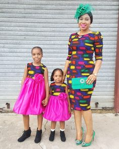 Choose from the best and beautiful matching African ankara styles for mother and daughter. These ankara styles are meant for stunning mother and daughter African Fashion Ankara, African Wear, African Dress, African Outfits, African Style, Latest Ankara Dresses, Ankara Dress Styles, Ankara Styles For Kids, Trendy Ankara Styles