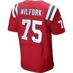 The Official Patriots ProShop Mobile   Nike Elite Vince Wilfork #75 Throwback Jersey-Red