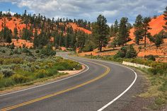 Driving through Red Canyon