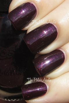 Repackaged Nicole by OPI - Smile for the Glam-era - OPI – Stir-fried Eggplant. Repackaged Nicole by OPI – Smile for the Glam-era OPI – Stir-fried Eggplant. Repackaged Nicole by OPI – Smile for the Glam-era Get Nails, Fancy Nails, Love Nails, How To Do Nails, Pretty Nails, Hair And Nails, Plum Nails, Dark Nails, Purple Nails