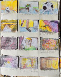Page 9 of Trollie storyboards from sketchbook
