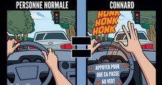 Top 7 des illustrations sur comment les connards voient le monde même sans lunettes de connard