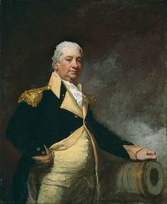 Henry Knox was one of the most able men in the US Army during the revolution. He was a bookseller who trained himself on military topics. He led the greatest logistics expedition of the war when he transported 60 ton of cannon from Ft Ticonderoga to Bosto American Revolutionary War, American War, Early American, American History, American Presidents, British History, Henry Knox, Gilbert Stuart, Continental Army