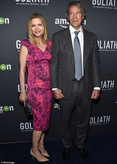 Ally McStealing the show:Michelle Pfeiffer looked great  as shesupported husband David E...