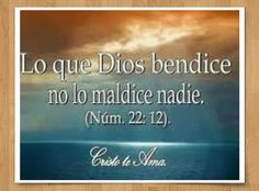 NUMEROS 22:12  #DiosTeAmaayPeleaporsusHijos...