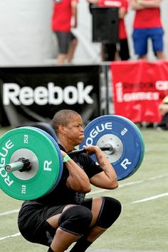Crossfit Inspiration: thruster  More Fitness Motivation at http://www.fitbys.com #crossfit #fitness #motivation