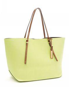 Michael Kors Handbags Sale Gia Ew Tote Kiwi Leather