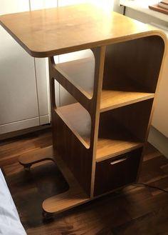 Habitat Walnut Bedside Table | eBay