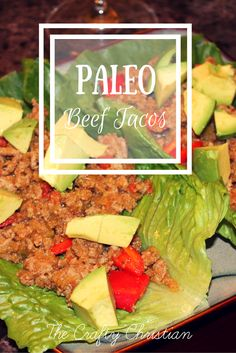 Tacos are one of the foods I can't get enough of.  So obviously, I had to make a healthier version of them that would work with my strict food guidelines.  Paleo Tacos (with…