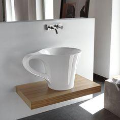 Cup Wash Basin by Meneghello Paolelli