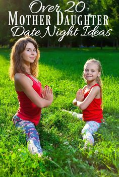 Over 20 Mother Daughter Date Night Ideas – The CentsAble Shoppin - Kids and parenting Mom Daughter Dates, Mother Daughter Crafts, Mother Daughter Activities, Mother Daughter Pictures, Mother Daughter Trip, Daughters Day, Mother Daughter Relationships, Teenage Daughters, Mother Daughter Bracelets