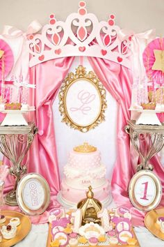 Royal Princess First Birthday Party                                                                                                                                                     More