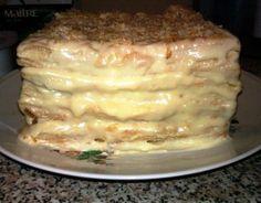 банановый торт наполеон
