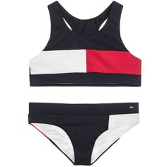 Girls Navy Blue Flag Bikini for Girl by Tommy Hilfiger. Tommy Hilfiger Bikini, Tommy Hilfiger Kids, Tommy Hilfiger Shoes, Flag Bikini, Bikini Girls, Navy Blue, Blue Flag, Evolution T Shirt, Kids Swimwear